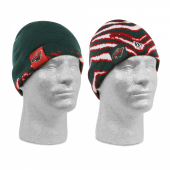 Minnesota Wild New EraZubaz reversible knit beanie