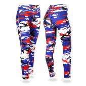 Buffalo Bills Camo Leggings