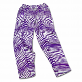 Northwestern Purple Zebra Pant
