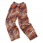 University Of Virginia Navy BlueOrange Zebra Pant