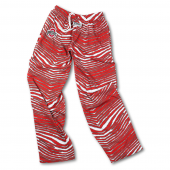 Ohio State RedGray Zebra Pant