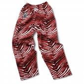 University South Dakota BlackRed Zebra Pant