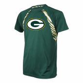 Green Bay Packers Zebra Poly TShirt