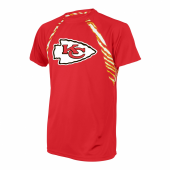 Kansas City Chiefs Zebra Poly TShirt
