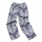 Seattle Mariners Navy BlueMetallic Silver Zebra Pant