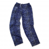 Detroit Lions Rainstorm BlueMetallic Silver Post Pattern Pant