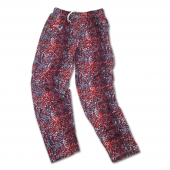 New England Patriots Navy BlueRed Post Pattern Pant