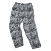 Oakland Raiders BlackMetallic Silver Post Pattern Pant