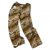 Pittsburgh Steelers Black Gold Zebra Pant