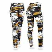 New Orleans Saints Camo Leggings