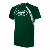 New York Jets Zebra Poly TShirt