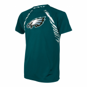 Philadelphia Eagles Zebra Poly TShirt