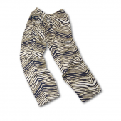 University Of Pittsburgh NavyMetallic Gold Zebra Pant