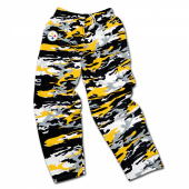 Pittsburgh Steelers BlackGold Camo Pant