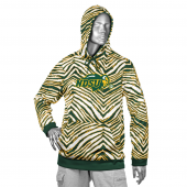 North Dakota State University GreenGold Zebra Hoodies