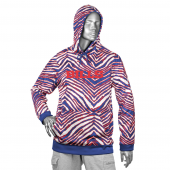 Buffalo Bills New BlueRed Zebra Hoodies