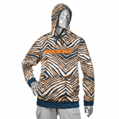 Chicago Bears NavyOrange Zebra Hoodies