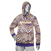 Minnesota Vikings PurpleGold Zebra Hoodies