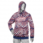 New York Giants New BlueRed Zebra Hoodies