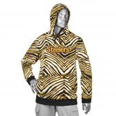 Pittsburgh Steelers BlackGold Zebra Hoodies