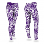 University of Washington Purple Zebra Legging