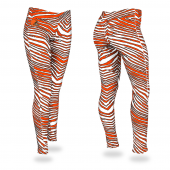 Cleveland Browns Fire RedBrown Zebra Legging