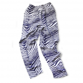 Youth Navy Blue Zebra Pant