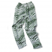 Youth Green Zebra Pant