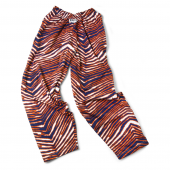 Youth Navy BlueOrange Zebra Pant