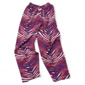 Youth New BlueRed Zebra Pant