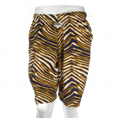 Navy BlueGold Zebra Short