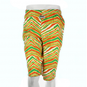 GreenRedYellow Zebra Short