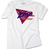 New BlueRed Triangle TShirt