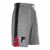 Atlanta Falcons Gray Space Dye Short With Stripe