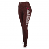 Womens Arizona Cardinals Faux Mesh Print Legging