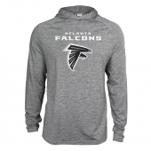 Mens Atlanta Falcons Gray Space Dye Light Weight Hoodie