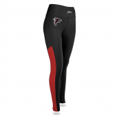Womens Atlanta Falcons Solid Legging With Side Mesh