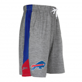 Buffalo Bills Gray Space Dye Short With Stripe