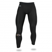 Mens Baltimore Ravens Black Legging