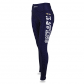 Womens Baltimore Ravens Faux Mesh Print Legging