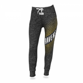 Womens Baltimore Ravens Heather Gray Jogger