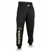 Baltimore Ravens Black Jogger