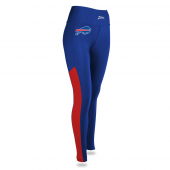 Womens Buffalo Bills Solid Legging With Side Mesh