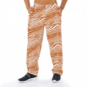 Burnt Brown Zebra Pant