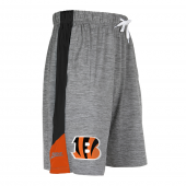 Cincinnati Bengals Gray Space Dye Short With Stripe