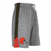 Cleveland Browns Gray Space Dye Short With Stripe