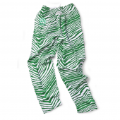 North Dakota Fighting Hawks Kelly Green Zebra Pant