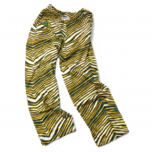 North Dakota State University Bison GreenGold Zebra Pant