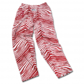 Alabama Crimson Tide New Maroon Zebra Pant