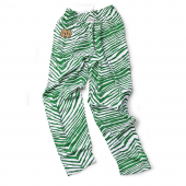 Notre Dame Fighting Irish Kelly Green Zebra Pant